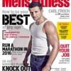 """Burridge stars in """"Men's Fitness"""""""
